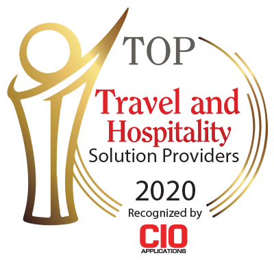 CIO Applications 2020 Top Travel & Hospitality Solution Provider