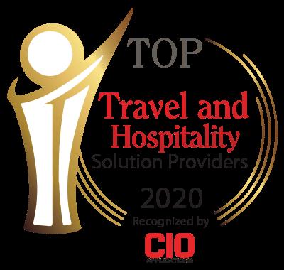 CIO Applications 2020 Top Travel & Hospitality Solution Provider